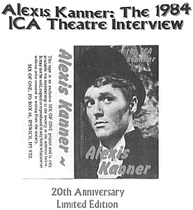 The 1984 ICA Theatre interview